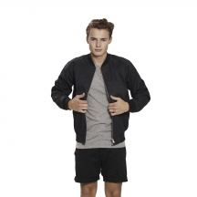 THE VARSITY WAXED JACKET STEALTH