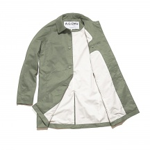 THE WAXED SCOPE COAT UNCOVER