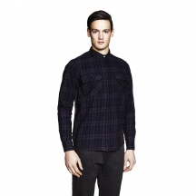 THE FIELD SHIRT - Overdyed Check 1