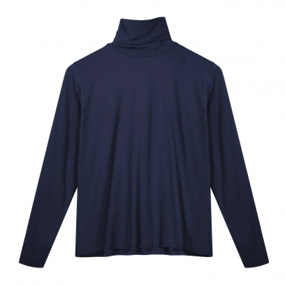 THE TERRY BACK WIDE POLO SWEATER